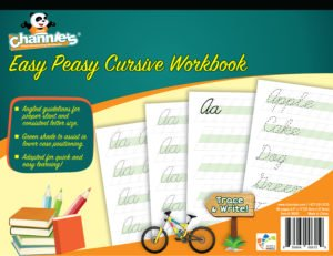 Easy peasy cursive workbook