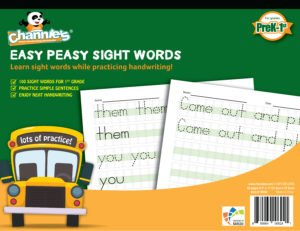 Easy peasy sight words