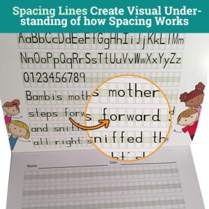 spacing worksheet