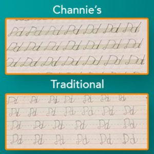 cursive handwriting tool
