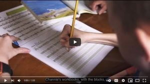 Our Story - Channie's Visual Handwriting Workbooks