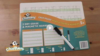 KW001 Dry erase alphabet & number magnatic boards_V2_Moment resize
