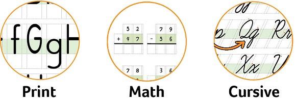 Channie's - Print | Math | Cursive